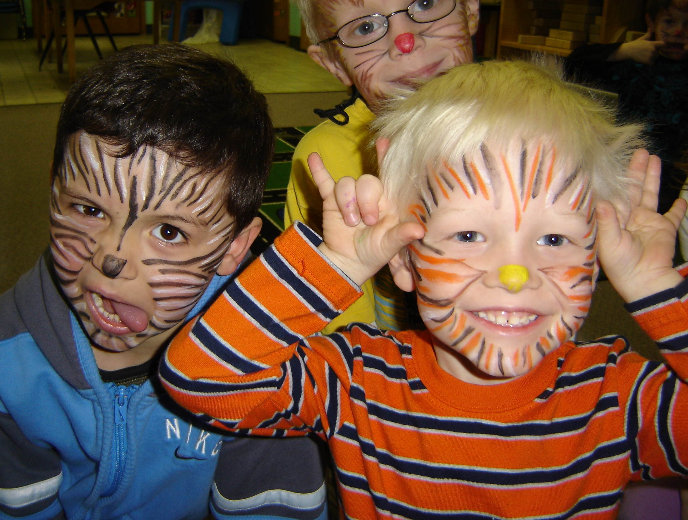 Zoo Face Paint